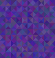 Abstract triangular purple pattern or background vector image vector image