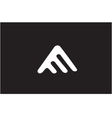 Alphabet letter A logo icon design vector image vector image