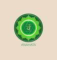 anahata fourth chakra hindu sanskrit mantra green