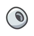 car wheel tyre icon cartoon vector image