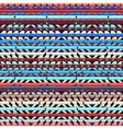 Geometric aztecs pattern vector image