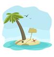 Island vector image