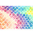 rainbow colorful onion shape watercolor vector image vector image