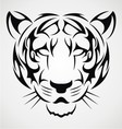 Tiger Tattoo Design vector image vector image