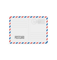 vintage mailing envelope vector image