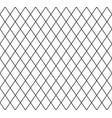 grid mesh lattice background with rhombus diamond vector image vector image
