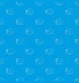 kiev cutlet pattern seamless blue vector image vector image