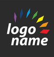 logo spectrum vector image vector image