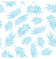 tropical seamless floral pattern background with p vector image vector image