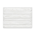 white wooden sign vector image