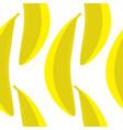 a yellow banana seamless pattern vector image vector image