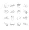 mealcelebration cafe and other web icon in vector image vector image