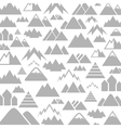 Mountain a background vector image