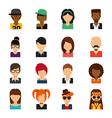 person avatars vector image