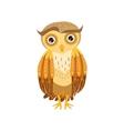 sceptic owl cute cartoon character emoji