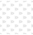 loud volume up icon outline style vector image