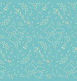 seamless pattern with flying kites vector image