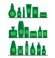 bathroom shelves vector image vector image