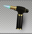 lighter cigarette light equipment 3d vector image