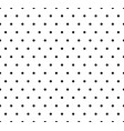 monochrome dotted polka dot pattern seamless vector image vector image