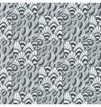 ornamental waves zentangle pattern creative vector image vector image