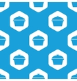 Pan hexagon pattern vector image vector image