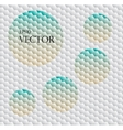 Seamless background with hex grid vector image vector image