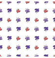 seamless hand drawn butterfly background good for vector image