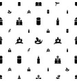 spice icons pattern seamless white background vector image vector image