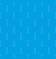 test tube pattern seamless blue vector image vector image