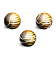 abstract sphere vector image vector image
