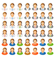 Human icon vector image vector image