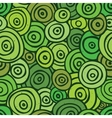 Pop art retro seamless pattern green vector image vector image