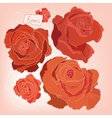 Roses image vector image vector image