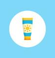 sun cream icon sign symbol vector image vector image