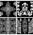 camb set seamless 2 vector image vector image