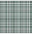 Checkered fabric tartan textile vintage vector image vector image