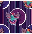 Colorful seamless pattern with birds vector image vector image