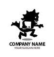 Delivery Monster Logo vector image vector image