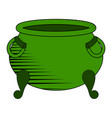 empty coin pot icon vector image
