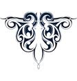 Maori tribal tattoo