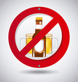 no beer vector image