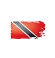 trinidad and tobago flag on a vector image