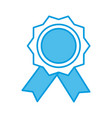 award ribbon symbol vector image