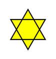 david star icon vector image