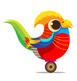 Golden Pheasant cute cartoon abstract vector image vector image