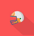 helmet icon set of great flat icons with style vector image vector image