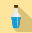 potion bottle icon flat style vector image vector image