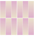 seamless geometric pattern with horizontal stripes vector image vector image
