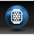 Watch Phone icon tablet flat multimedia vector image